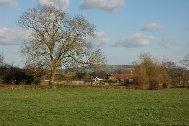 Moat Farm viewed from Earl's Croome