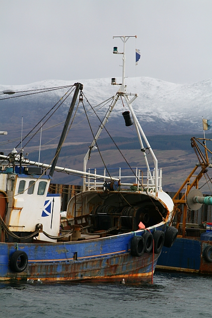 Fishing Boat at Carradale Harbour (2)