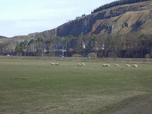 The Quarry near Bower on the A7 in the Scottish Borders