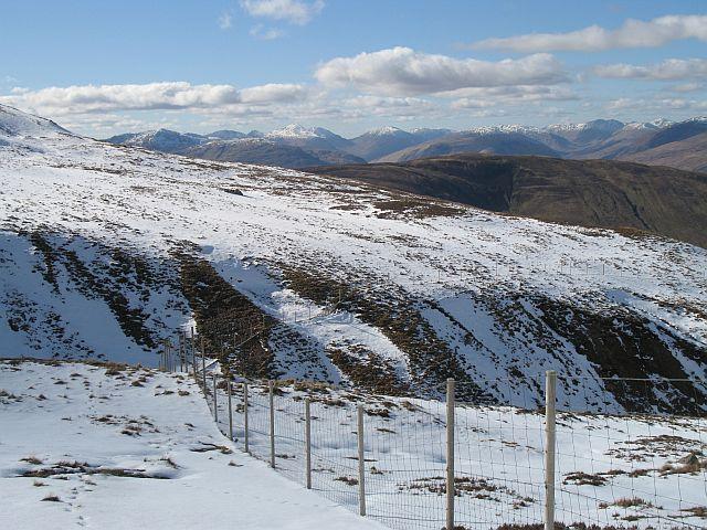 Deer fence, Coire a' Mhuillin
