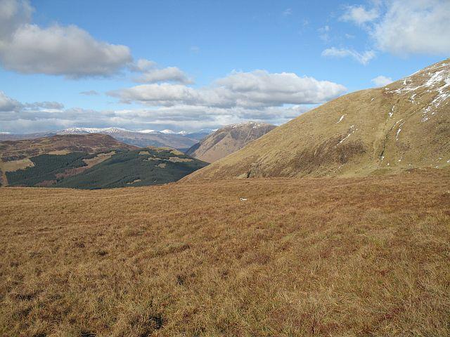Moorland on Mullach nan Coirean