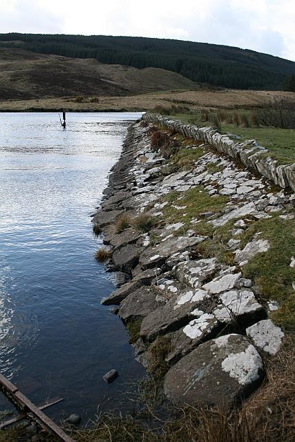 Dam at Killypole Loch