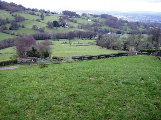View from Pistyll-gwyn