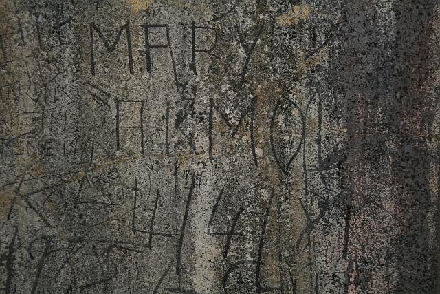 Graffiti at Killypole