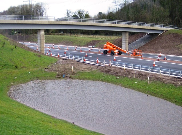 New access over the A465