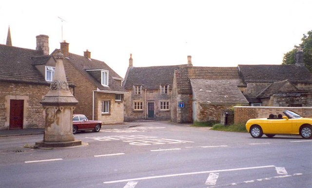 The centre of the village, Ketton
