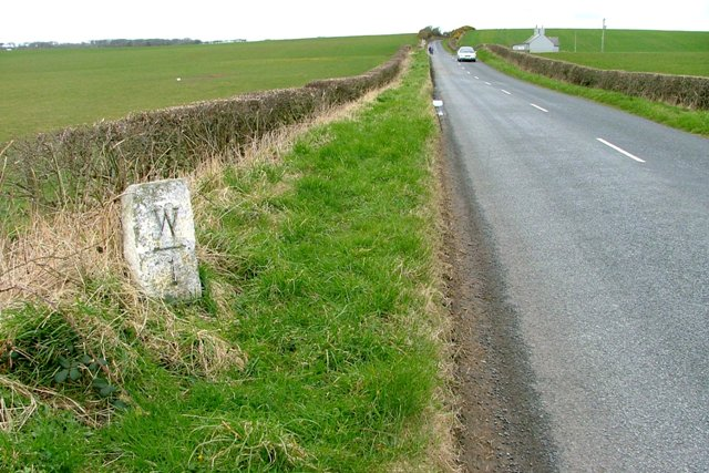 Milepost, Whithorn I Mile