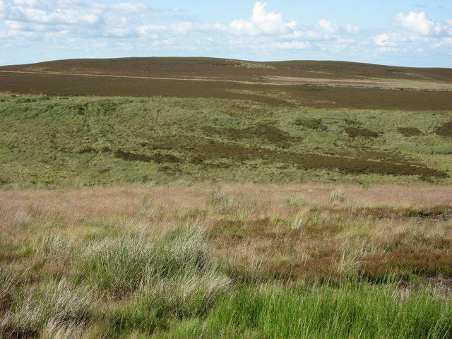 Moorland between the Foumart Hills and Great Lawsley