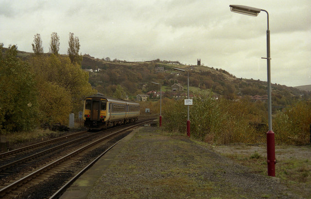View from Todmorden station