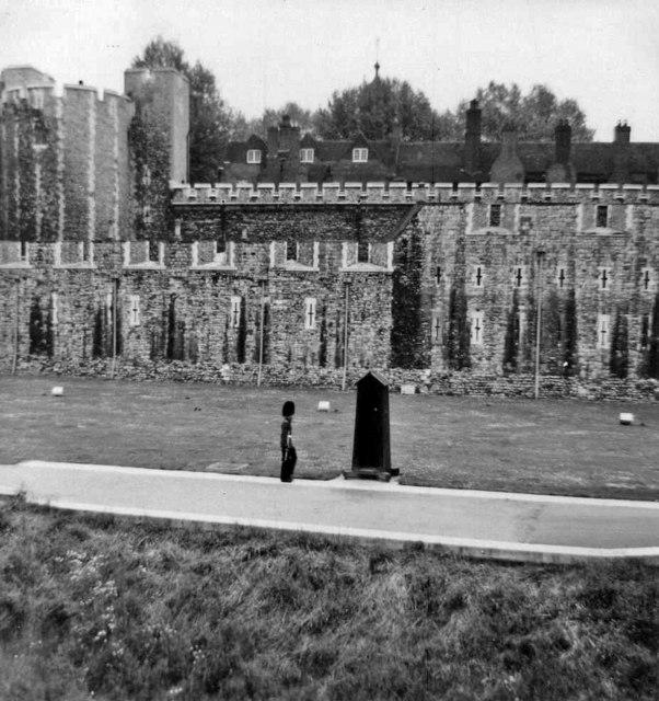 Tower of London, taken 1968