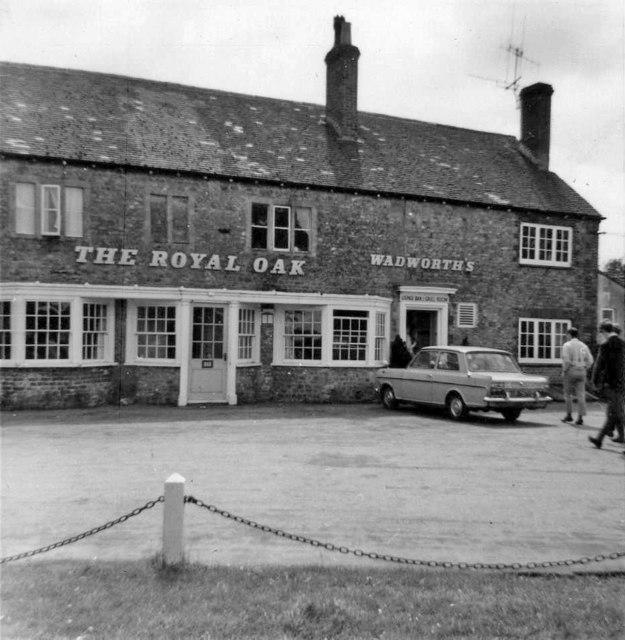 Royal Oak, Corsley Heath, Wiltshire taken 1968