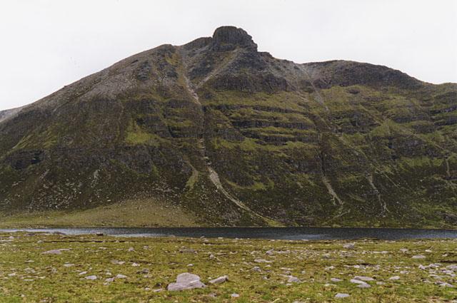 Moorland near Lochan Bealach Cornaidh