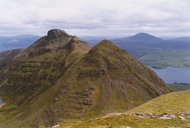 View towards Spidean Coinich
