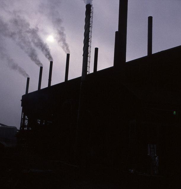 Coalite Smokeless Fuel plant