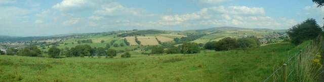 Southfield Farm, Waltons Spire panoramic view