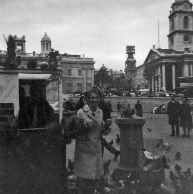 Trafalgar Square, London, taken 1968