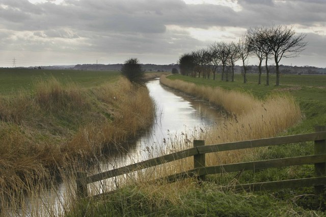 From Becket's Bridge, Romney Marsh