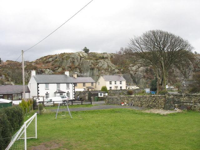 Houses at Pen Llyn