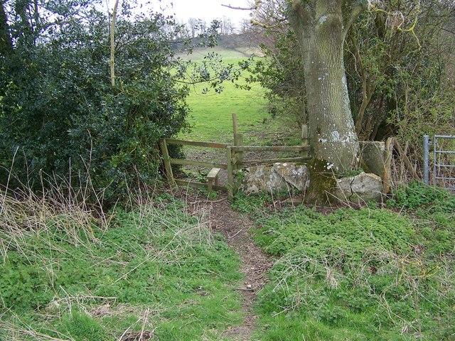 Stile near Sutton Mandeville