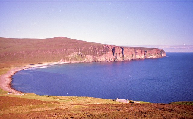 Croft on the northern shore of Rack Wick bay