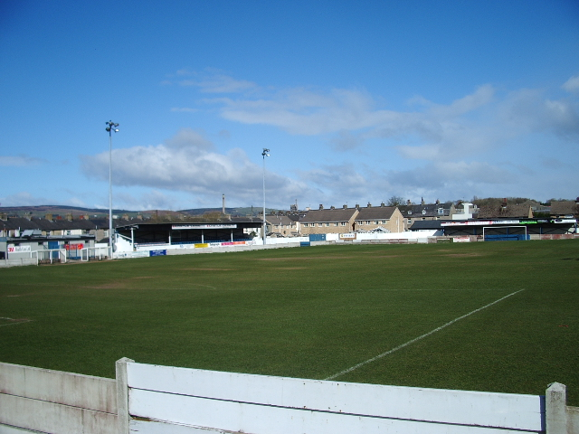Shawbridge Football Ground home of Clitheroe FC