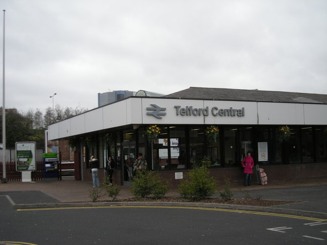 Telfords state-of-the-art (not) railway station