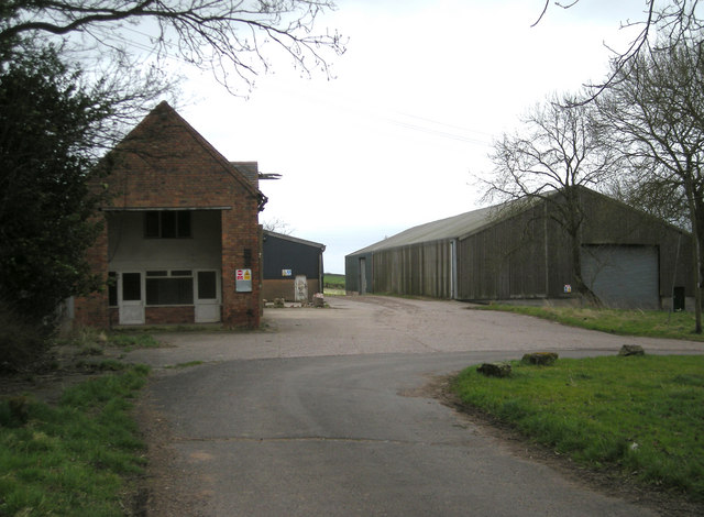 Farm buildings at 'The Woodhouse'
