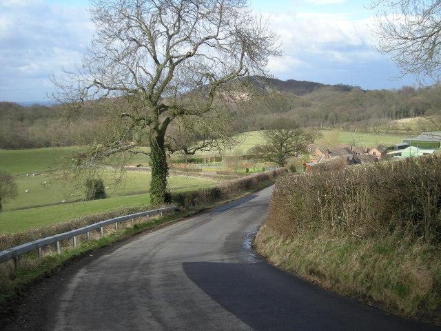 The lane past 'Willowmoor'