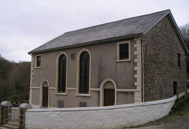Chapel at Bwlchnewydd