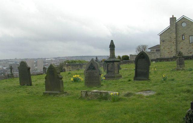 Graveyard - St Thomas the Apostle - Claremount Road