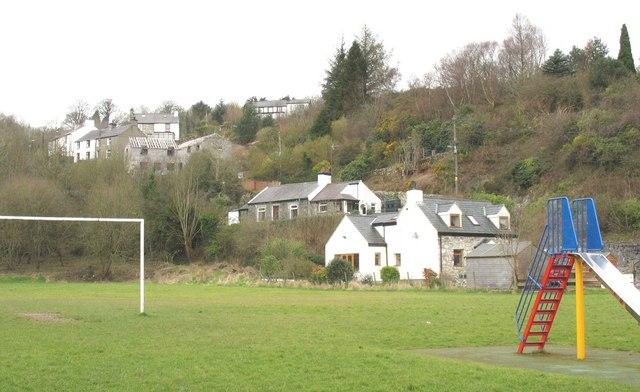 Houses at Rallt Goch, Cwm-y-glo