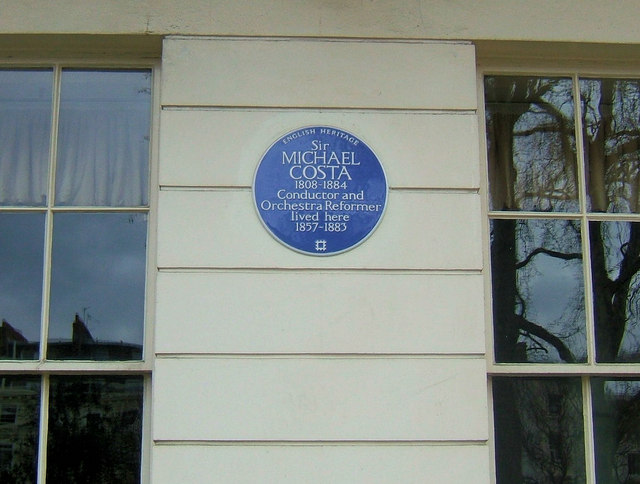Blue Plaque on 59-60, Eccleston Square, London SW1