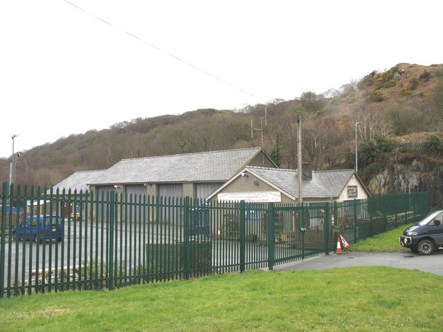 Site of the old Cwm-y-glo LMS station