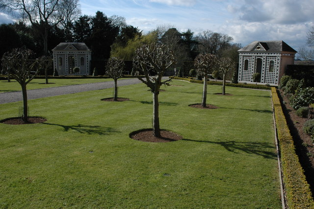 Gardens of Hanbury Hall