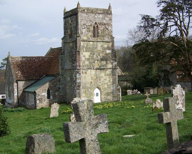 Tower, All Saints Church, Sutton Mandeville