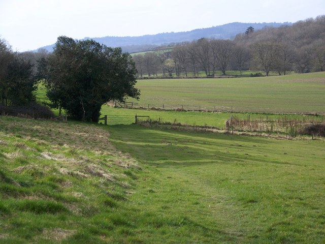 Footpath on Harris's Hill