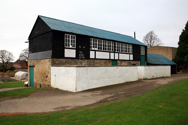 Magdalen College School, Brackley, Northants: the cricket pavilion
