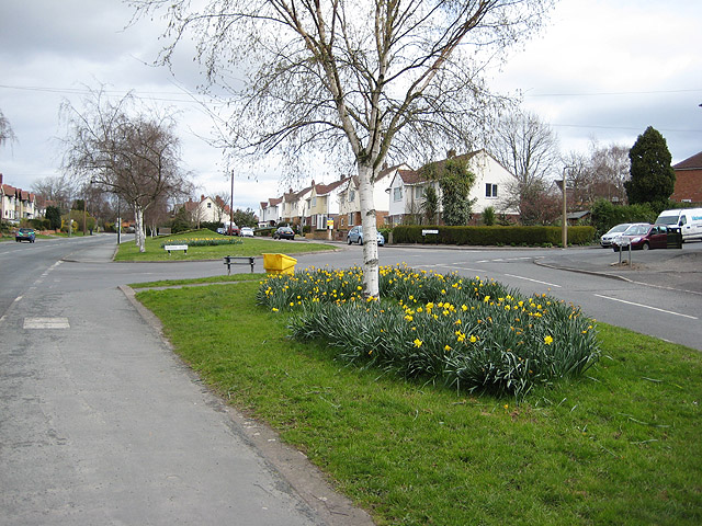 Quarry Road meets Ledbury Road, Tupsley