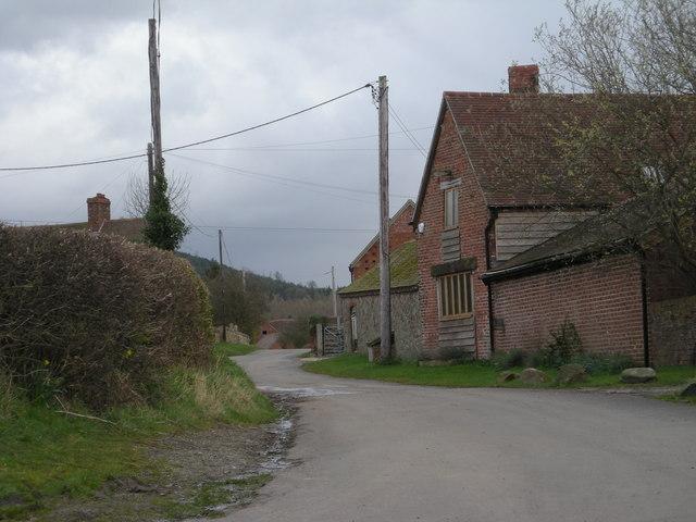 Three farms at Rushton