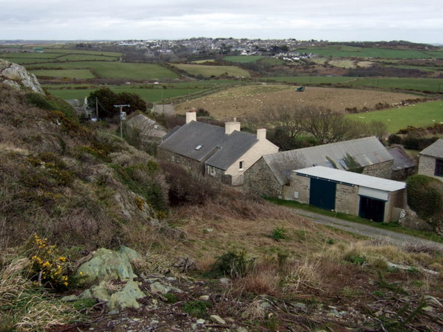 Clegyr Boia farms and St David's