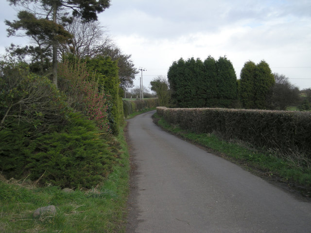 Spout Lane beside Severnvale