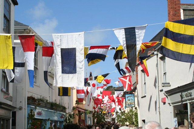 Padstow 'obby 'oss celebrations on May Day