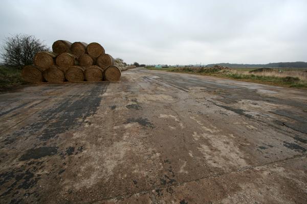Disused airfield perimeter track