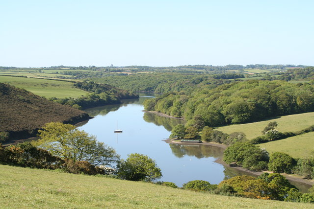 Polwheveral Creek on the Helford River