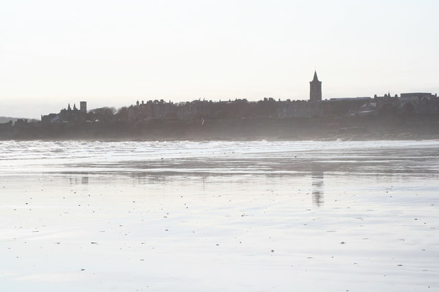 St Andrews from the sands