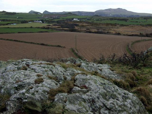 Clegyr Boia, view southwest