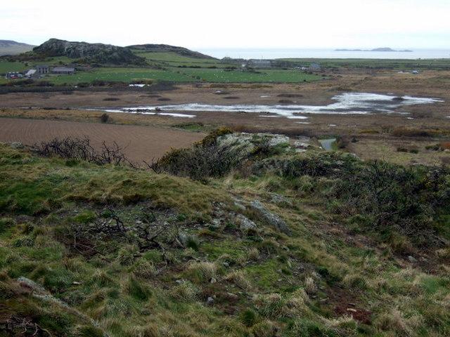 Clegyr Boia, view northwest