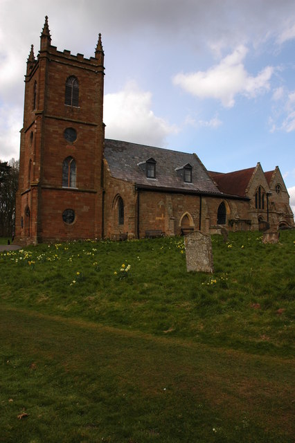Hanbury Church