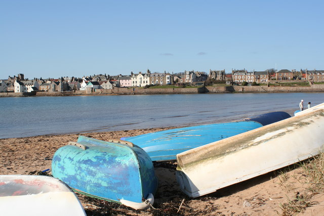 Elie seafront