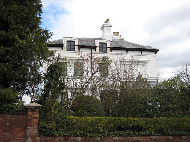Plas Gwyn, Elgar's home from 1904 - 1911